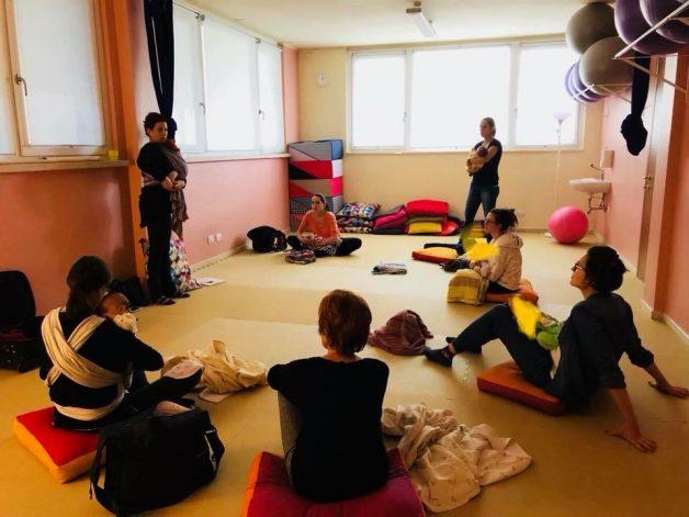 babywearing: istruttrice Portare I Piccoli®
